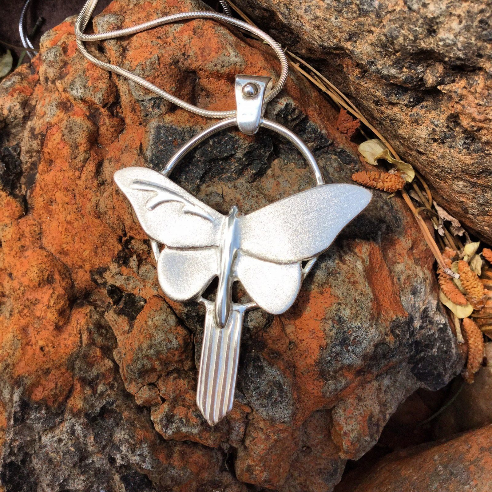 Jewelry Sculpture - May Your Dreams Have Wings pendant