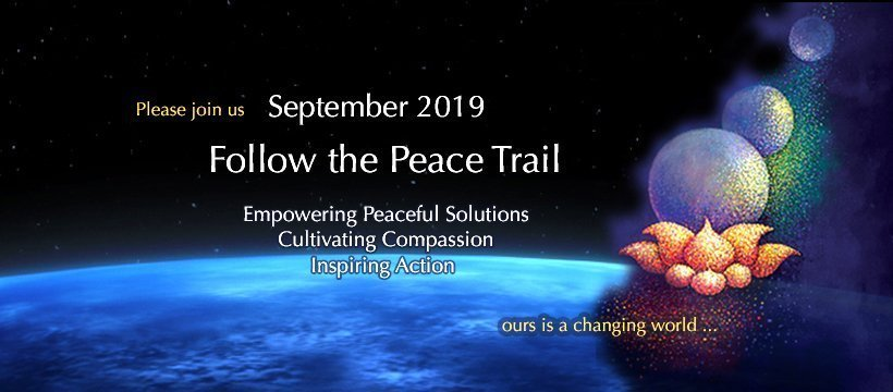 """Follow the Peace Trail"" September 2019"