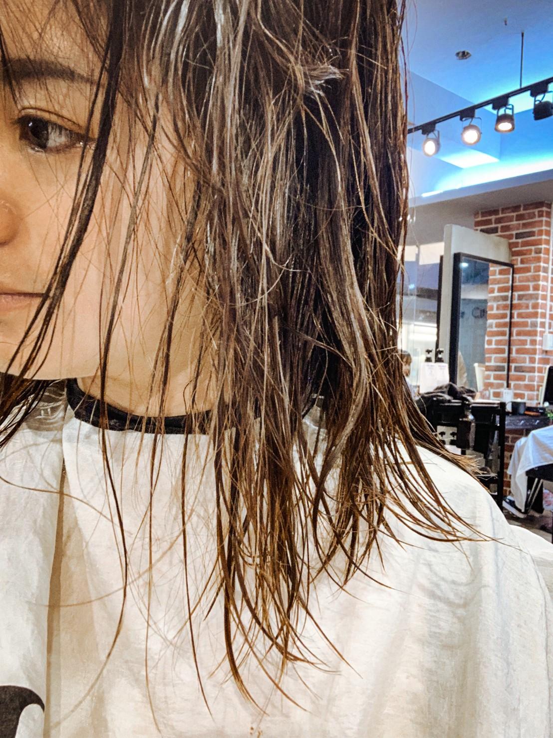 哥德式護髮完畢-台中護髮推薦HairCity哥德式護髮