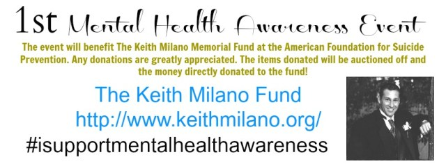 The Keith Milano Auction Event Banner