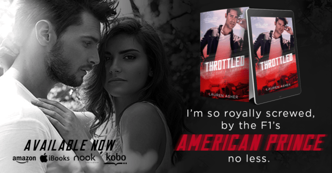 NEW RELEASE: THROTTLED by Lauren Asher