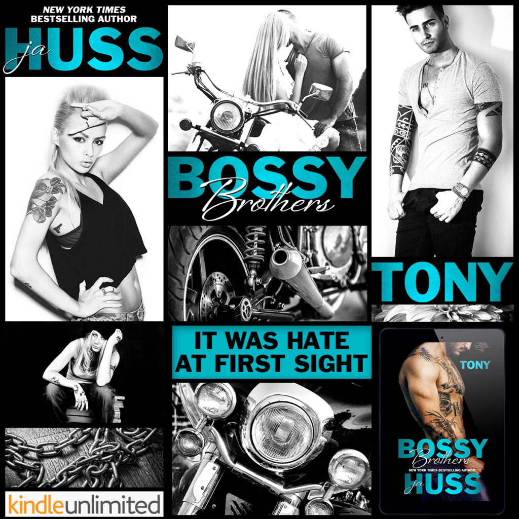 Bossy Brothers: Tony by JA Huss Release & Review     Sultry Sirens ...