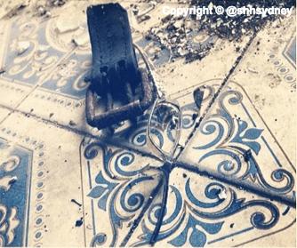 Bits & bobs on Spanish tiles