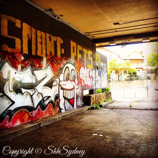 street side scene
