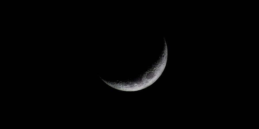 Луна в месяц Раджаб
