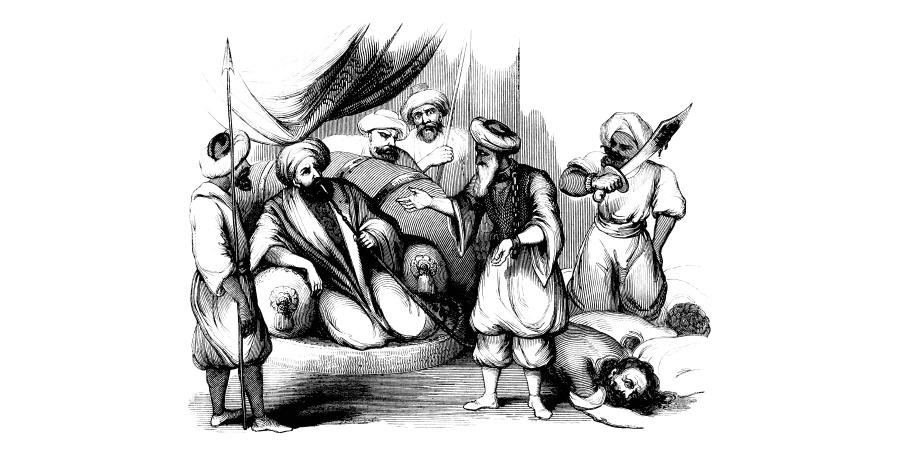 Жестокая казнь перед султаном