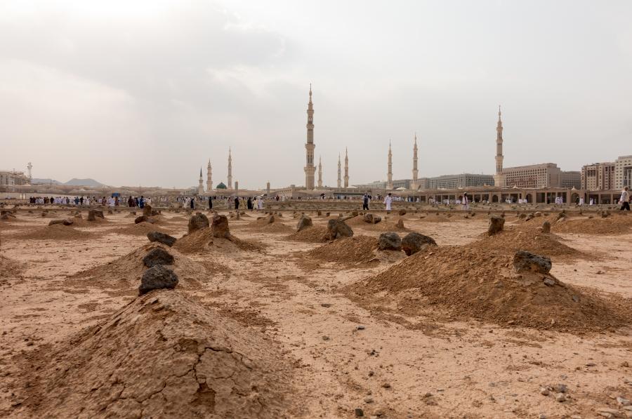 Кладбище Джаннат аль-Баки, Медина, Саудовская Аравия