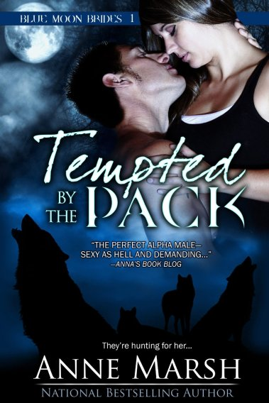 Tempted by the Pack by Anne Marsh available free for limited time on Nook and Kindle