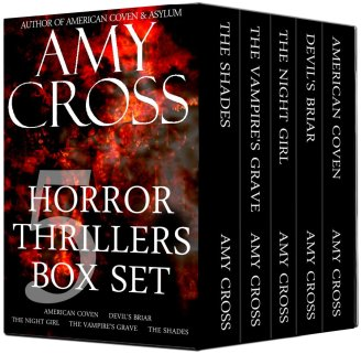 Horror 5 Book Boxed Set by Amy Cross available for limited time price of $0.99 on Kindle
