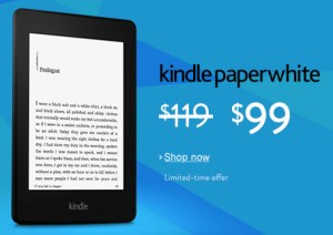 Get Kindle Discounts at Amazon on Kindle and Kindle Paperwhite