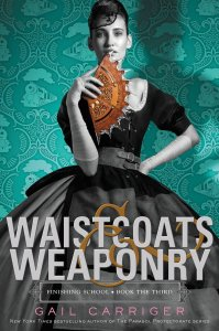 $1.99 ebook deal: Waistcoats & Weaponry by Gail Carriger