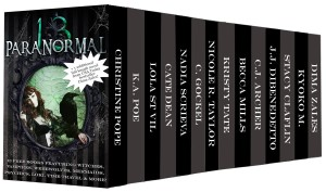 The Paranormal 13 Boxed Set by 13 bestselling authors available free for limited time on Nook and KIndle