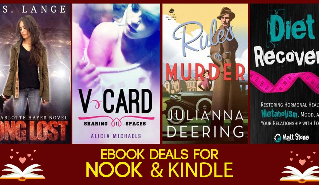 6/12 Friday Afternoon Book Deals for Nook & Kindle