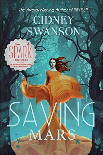 Saving Mars by Cidney Swanson available free for limited time on Nook and Kindle