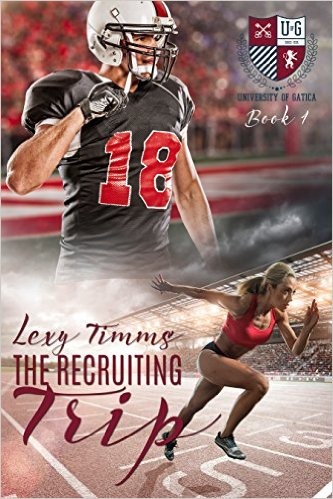 The Recruiting Trip by Lexy Timms available free for limited time on Nook and KIndle