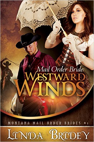 Mail order Bride: Westward Winds by LInda Bridey available free for limited time on Nook and KIndle