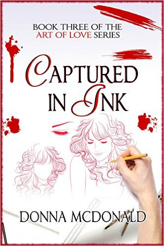 Captured in Ink by Donna McDonald available free for limited time on Kindle