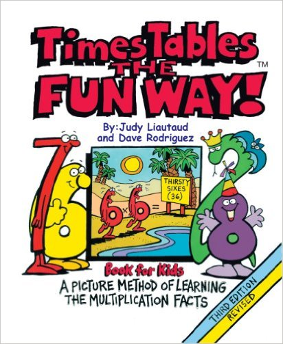 Times Tables the Fun Way available free for limited time on Kindle