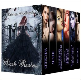 Dark Realms 6 Book Boxed Set by Kristen Middleton available free for limited time on Nook and KIndle