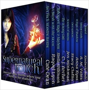 Supernatural Touch 9 novel Boxed Set by 9 bestselling authors available free for limited time on Nook and Kindle