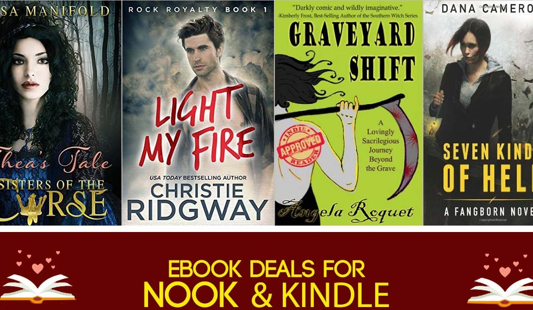 7/31 Afternoon Block of Nook & Kindle Deals