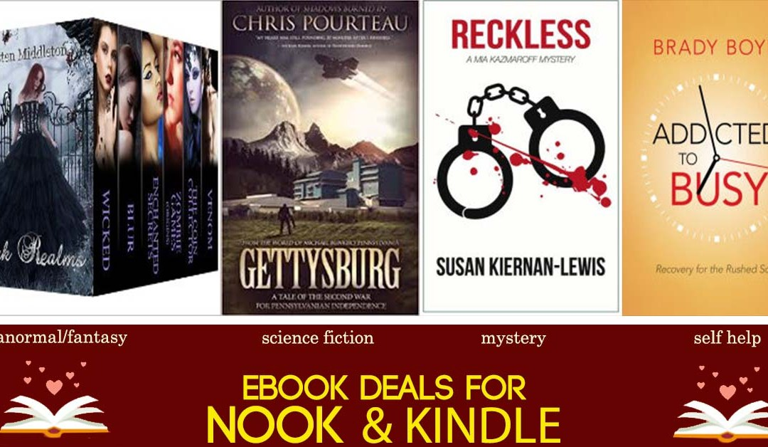 7/3 Afternoon Block of Book Deals