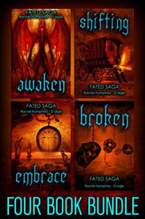 Fated Four Book Bundle by Rachel Humphrey Daigle available free for limited time on Nook and Kindle