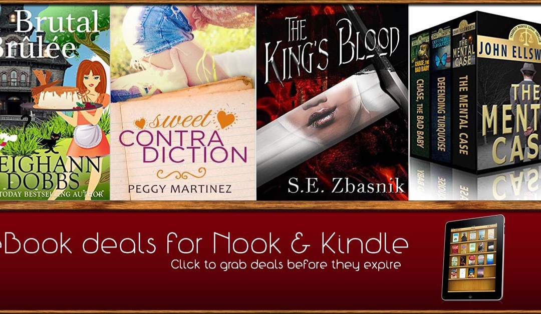 8/11 Afternoon Block of eBook Deals on Kindle and Nook
