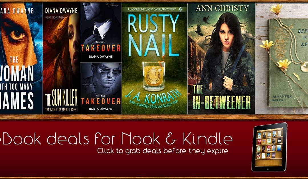8/12 Afternoon Block of Book Deals