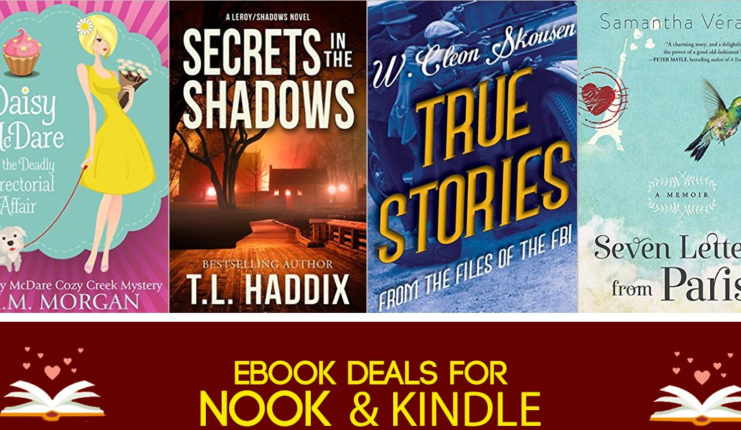 8/3 Evening Block of Free Nook and Kindle eBook Deals