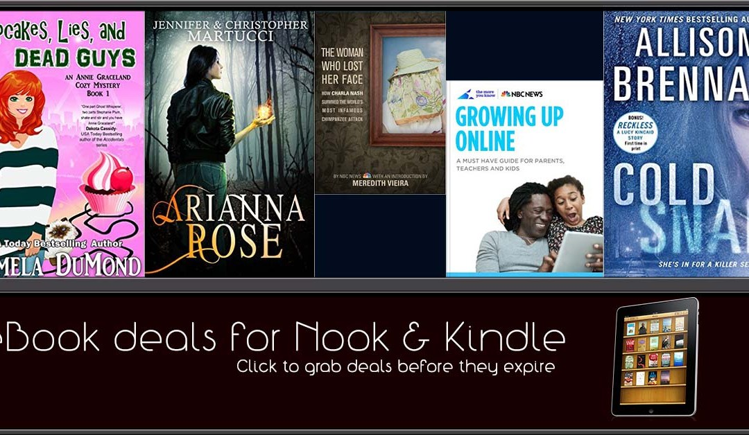 10/26 Afternoon Block of Nook and Kindle Deals