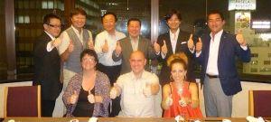 Shiatsu Yasuragi, en Japón con la directiva de la International Shiatsu Foundation