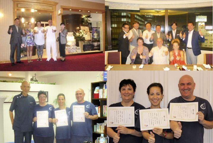 Shiatsu Master Japón Diplomas del Master