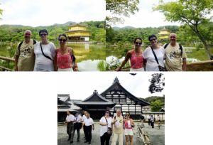 Shiatsu Master en Japón, templo Kinkakuji