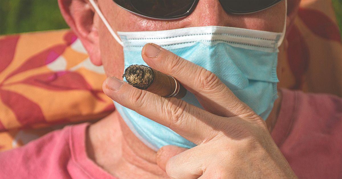 Covid 19 Fumar en Terrazas