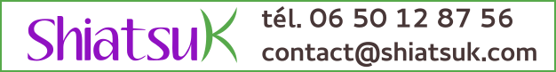 Prendre RDV par téléphone ou en ligne - contact ShiatsuK