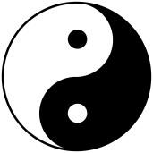 Symbole Yin Yang - Tao - énergies - DonkeyHotey_Yin Yang - Symbol _