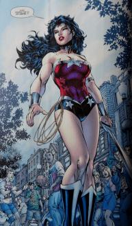 Wonder Woman, je vous avouerai que celle-ci est plutôt bien apprêté !