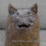 柴犬まるとの伊豆旅行で寄った「伊豆高原わんこの森」からワンシーサーが届きました~!