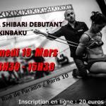 Atelier shibari paris / Seb Kinbaku
