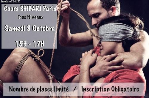 Cours Shibari Paris / Octobre 2016 / Seb Kinbaku