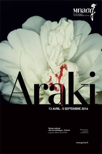 Araki Exposition Paris