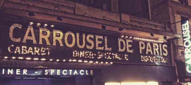 Performance SHIBARI AU CARROUSEL DE PARIS