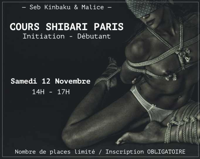 Cours Shibari Paris / Novembre 2016 / Seb Kinbaku