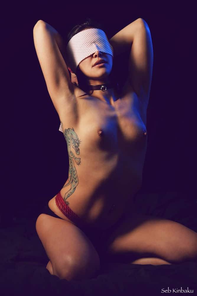 Erotic Shibari by Seb Kinbaku