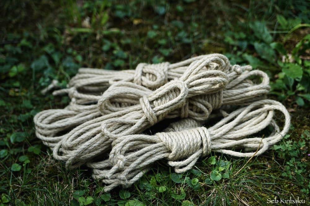 cordes shibari chanvre synthétique