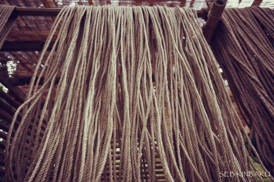 cordes bondage shibari chanvre naturel
