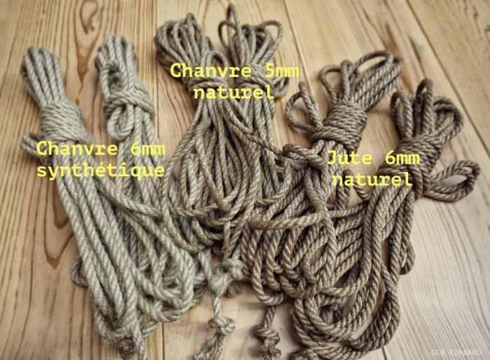 cordes shibari : Seb Kinbaku