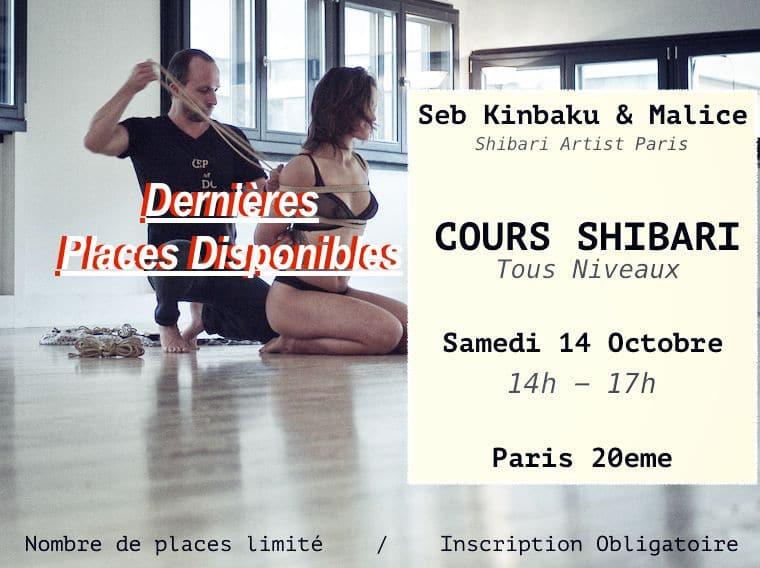cours shibari paris : Seb Kinbaku