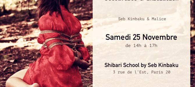 Atelier shibari novembre 2018